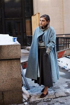 On the Street…..West 33rd St., New York - The Sartorialist