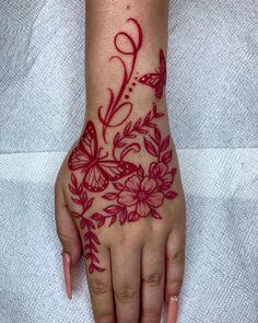 Pretty Hand Tattoos, Hand Tattoos For Girls, Dope Tattoos For Women, Cute Tattoos, Girly Hand Tattoos, Tatoos, Tribal Hand Tattoos, Small Girly Tattoos, Stomach Tattoos Women