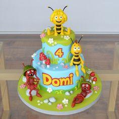 Pszczółka Maja - Maya the bee cake