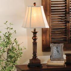 Bronze Resin Richard Table Lamp   Kirklands
