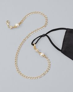 Face Mask Lanyards Chain Necklace Strap Face Cover Mask Chain Holder Handy Eyeglass Chain Paper Clip Necklace Jewelry for Women Men Teen Girls Kids
