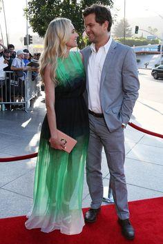 The Bridge TV series premiere, LA - July 8 2013  Diane Kruger and Joshua Jackson.