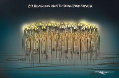 Cartoon: The Pike River decision - National - NZ Herald News