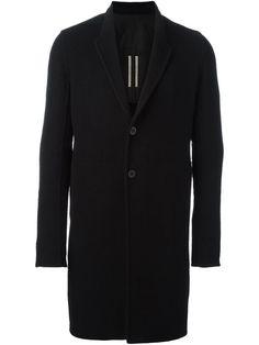 RICK OWENS single breasted coat. #rickowens #cloth #пальто
