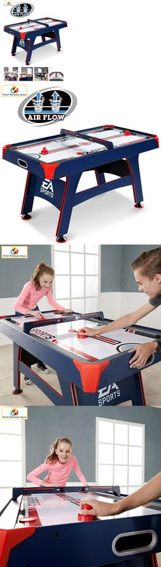 Air Hockey 36275: 60 Inch Air Hockey Table Ea Sports With Overhead  Electronic Scorer Sound