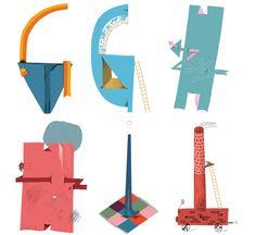 Mike Okay & Otto Baum - Comic Suns alphabet (G H I)