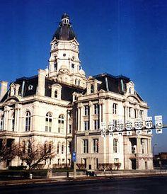 Vigo County courthouse, Terre Haute, IN Terre Haute Indiana, Indiana State, Home Again, Victorian Houses, Historic Homes, State University, Cincinnati, Mississippi, Iowa