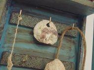 Κλειδοθήκη χειροποίητη Handmade Ornaments, Household, Coconut
