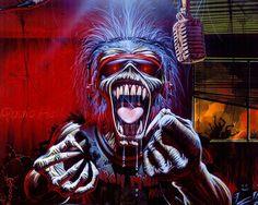 Classic Rock Album Art | Heavy Metal and Gothic Art - Iron Maiden Album Cover Art Wallpapers ...