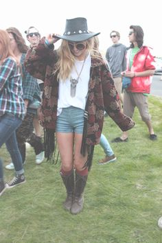 The Minnetonka Buffalo Nickel Hat is spotted at the Sasquatch Music Festival.