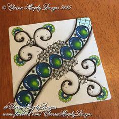 Gems by www.facebook.com/ChrissieMurphyDesigns #zentangle