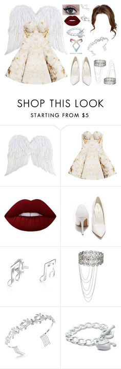 """Untitled #534"" by skh-siera18 ❤ liked on Polyvore featuring Josh Goot, Lime Crime, Shoe Republic LA, Bling Jewelry and Juicy Couture"
