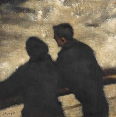 Anne Magill   Watching the Waves
