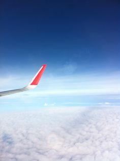 Flying high with an airplane. From KLIA to GZ