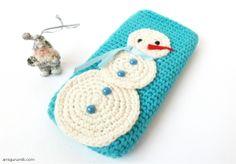 Snowman phone cover