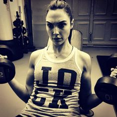 Gal Gadot. Because if you can't reel in Doomsday like a trout, you need to up your weights