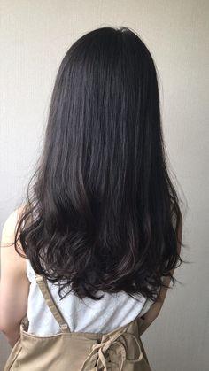 5トーンの髪色です Medium Bob Hairstyles, Easy Hairstyles, Soft Grunge Hair, 70s Hair, Half Up Half Down Hair, Cute Girl Face, Hair Color Dark, Brunette Hair, Girl Crushes