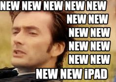 "So, the new iPad is literally called the ""New iPad""."