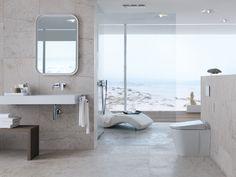 Nieuw: Geberit AquaClean Sela, de wc met douchefunctie, nu ook verkrijgbaar als vloerstaand toilet.