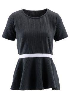 1/2-Arm, Schößchen-Shirt- designt von Maite Kelly, bpc bonprix collection