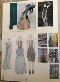 Fashion design sketch portfolio artist set new new talent design