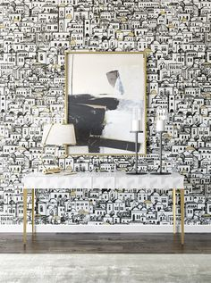 All in White Interior Design with Consoles represent the beauty and comfort associated with practicality, fantastic for a luxurious decoration.