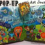 Art Journal Pop-up Book