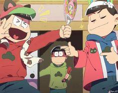 Картинка с тегом «anime, art, and osomatsu san»