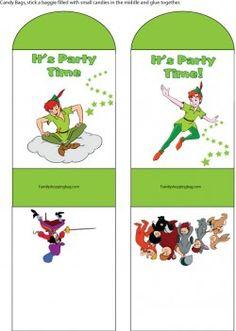 Peter Pan Candy Bag Favor Box