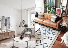 Mudança de apartamento: inspirações para decorar a sala - carolburgo.com