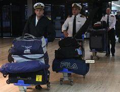 Regresaron a Argentina los tripulantes de la Fragata Libertad