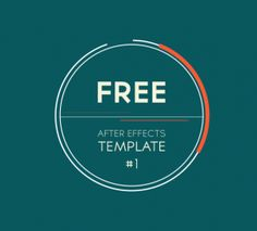Free After Effects Template: 2D Animation Pack ! | Motion design ...