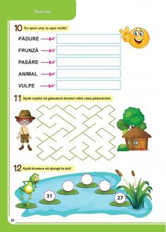 Caiet pentru vacanta - Clasa Pregatitoare Math For Kids, Diana, Parenting, Children, Food, Cots, 1st Grades, Young Children, Boys