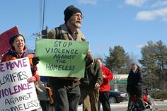 Violence against the homeless....Let's stop it now!