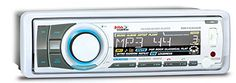 BOSS AUDIO MR752UAB Marine Single-DIN CD/MP3 Player Receiver, Bluetooth, Detachable Front Panel, Wireless Remote