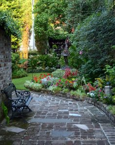 Courtyard Garden Charleston, SC