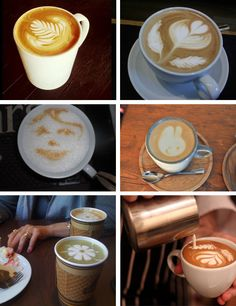 Arte sobre el café