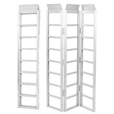 ARKSEN© Tri-Fold Folding Loading Ramp, Aluminum, 69″ X 44.5″-inch, Silver