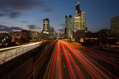 https://flic.kr/p/wyjhMA | Night Traffic Light III | La Défense Paris - France  -----------------------------  Canon EOS 5D Mark III Canon EF 17-40mm f/4L USM f/14 | 20s | 25mm | ISO 50  -----------------------------  © Copyright Philippe Saire ® All rights reserved  Thank you for your visit ;-)