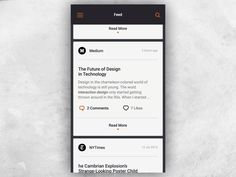 Hello There,  We are excited to share something new from our latest work. For this project we created a convenient and elegant way for users to read articles from various sources without any noise,...