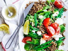 This deliciously fresh and healthy lentil, green bean and fetta salad is packed with mouthwatering flavour and texture, making it the perfect dinner for any night of the week!