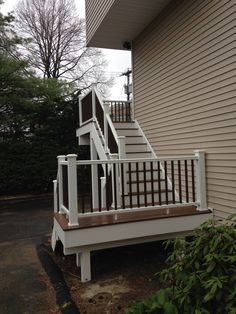 1000 ideas about second story deck on pinterest two for Second story decks with stairs