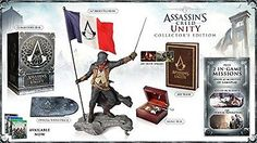 Assassin's Creed Unity Collector's Edition Video Game – Xbox One – Buy New – For Sale Latest Video Games, Video Games Xbox, Xbox One Games, Video Game News, Ps4 Video, Assassins Creed Series, Assassins Creed Unity, Xbox One For Sale, Soundtrack Music
