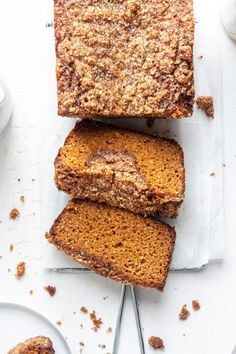This Paleo pumpkin bread with streusel topping is warmly spiced, so cozy, and flavorful. It has a soft and fluffy texture and a robust pumpkin flavor. This almond flour pumpkin bread is great for a quick breakfast, healthy snack or delicious dessert! Why You'll Love This Recipe This Paleo pumpkin bread has the best pumpkin […] The post Paleo Pumpkin Bread with Streusel Topping appeared first on Organically Addison.