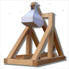 how to build a desktop trebuchet