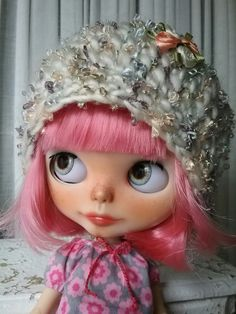 Blythe Doll. Hat Created by Debbie Aponte at My Beautiful Blythe on Etsy