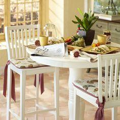 Ronan Bar Table - Antique White