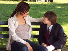Famke Janssen (from X-Men) and boy as Mina Grime's Mother and Brother Charlie in the UnEnchanted Book Series (Unfortunate Fairytale Series), if it were made into a movie series :)  http://www.femail.com.au/famke-janssen-turn-the-river-interview.htm