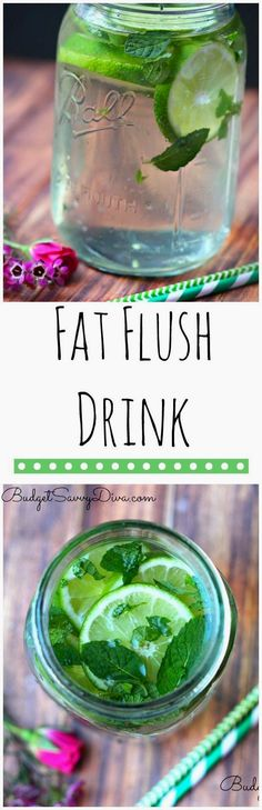 Fat Flush Detox Drink I have been drinking this daily for 2 weeks and I have lost weight! It helps burn fat, helps digestions, and helps with headaches and it is ALL natural - Fat Flush Detox Drink Recipe - Infused Water Healthy Drinks, Get Healthy, Eating Healthy, Healthy Detox, Healthy Water, Breakfast Healthy, Healthy Meals, Healthy Food, Juice Drinks