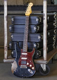 2012 '63 Heavy Relic Strat from Fender Custom Shop ~ Strat-O-Blogster Guitar Blog